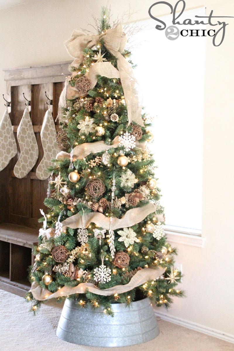 DIY Christmas Ornaments - Rustic tree inspiration - 05 | www.shanty-2-chic.com