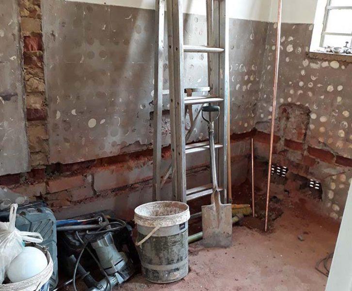 Bathroom Remodel Progress | www.windmillprotea.com