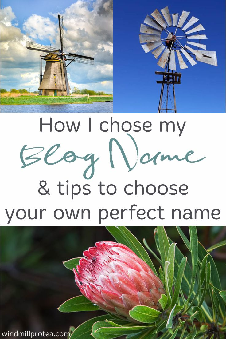 Tips on choosing a blog name