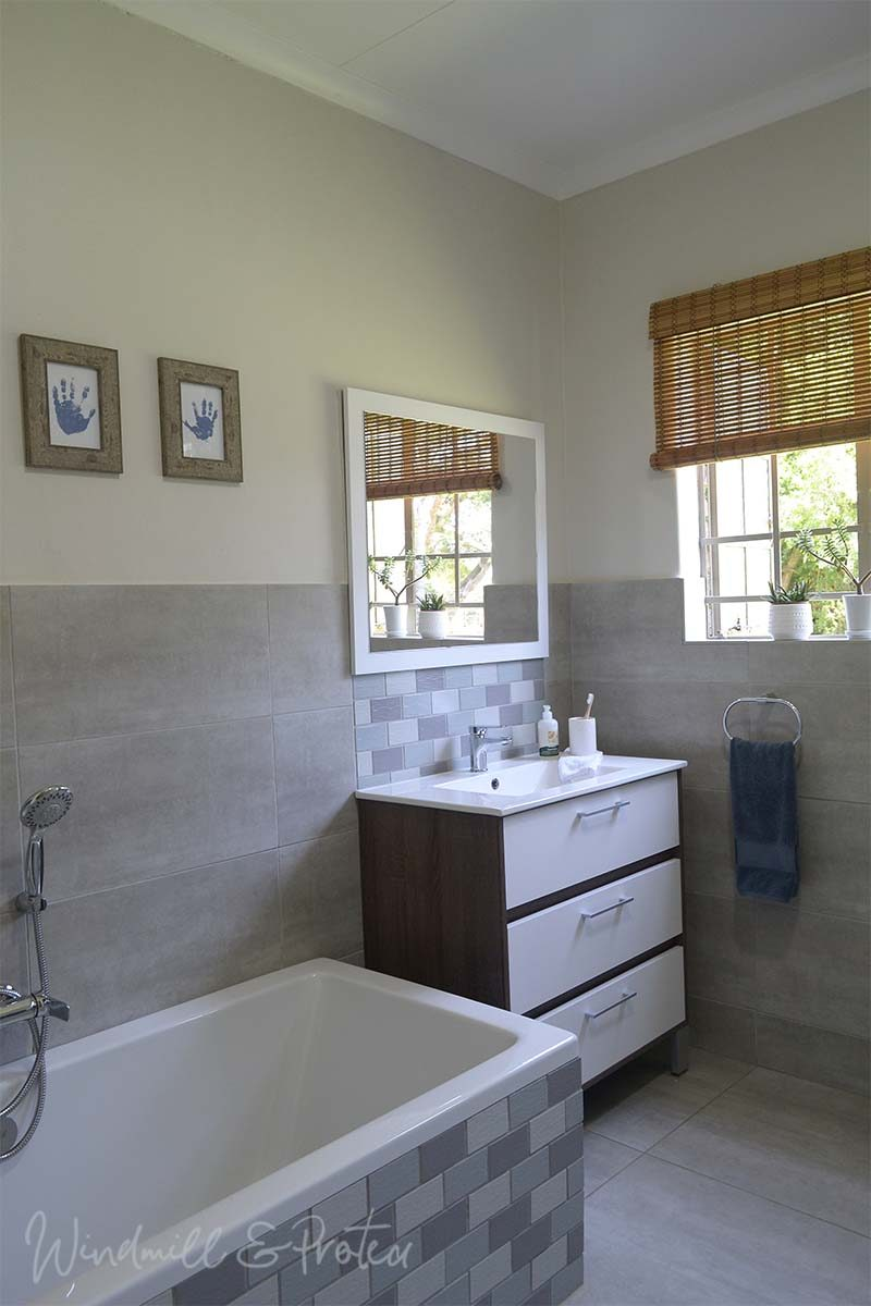 Family Bathroom Remodel Reveal - Basin and Bath | www.windmillprotea.com