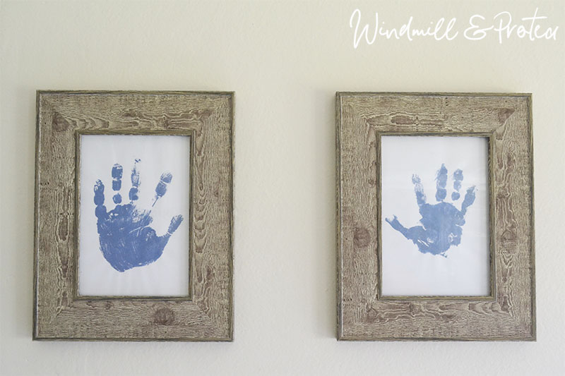 Bathroom Remodel Art and acc - Handprint art | www.windmillprotea.com