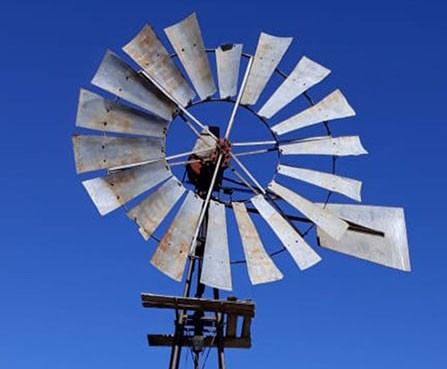 Windmill in the Karoo