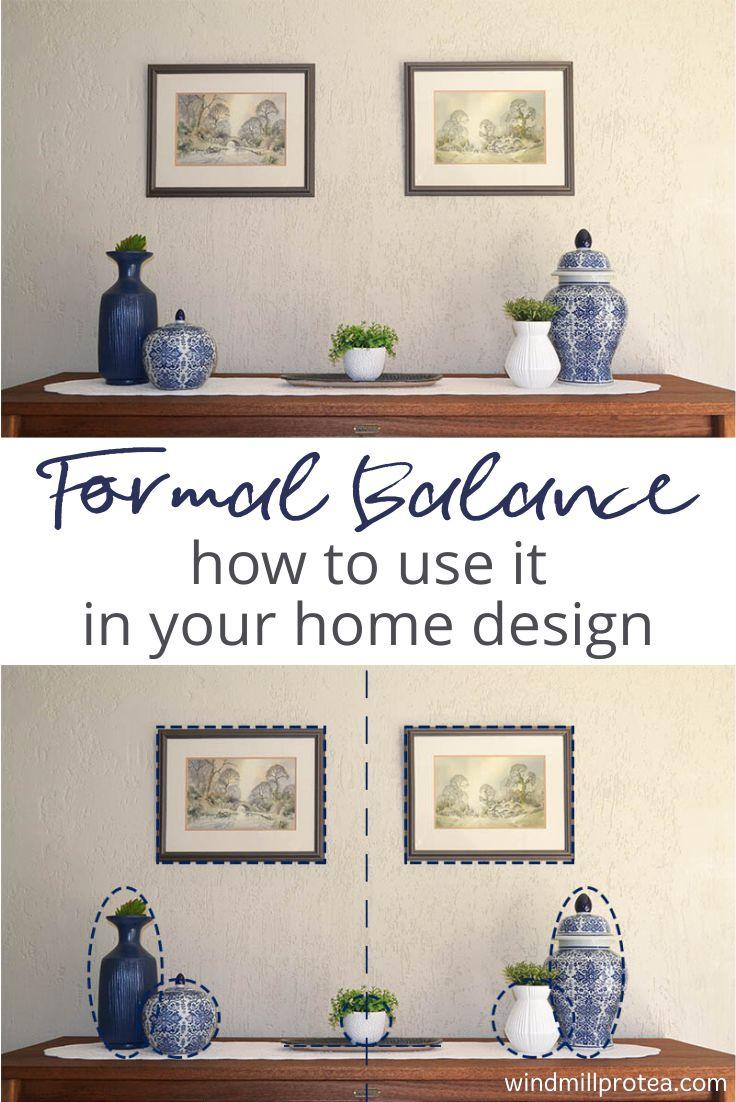 Formal Balance | www.windmillprotea.com