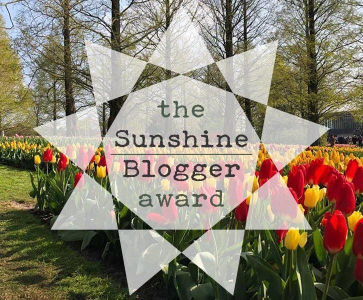 Sunshine Blogger Award | www.windmillprotea.com