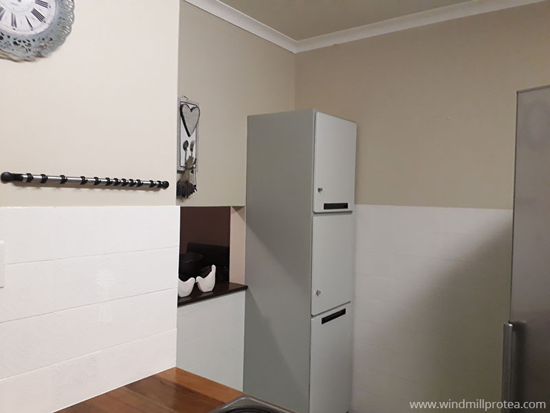 Cabinets & Wall tiles painted | www.windmillprotea.com