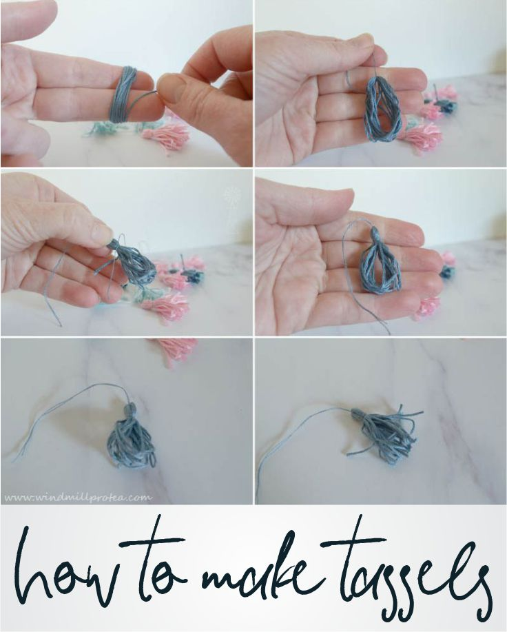 How to make tassels | www.windmillprotea.com