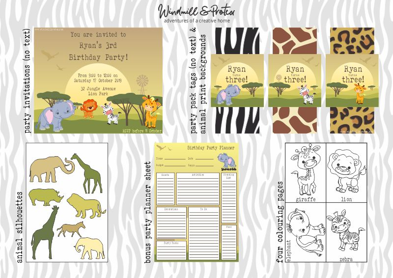 Printable Pack | www.windmillprotea.com