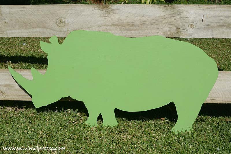 Rhino Silhouette | www.windmillprotea.com