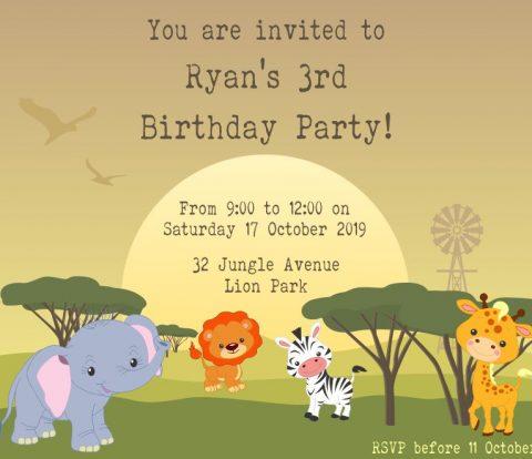 Wild Animal Party | www.windmillprotea.com