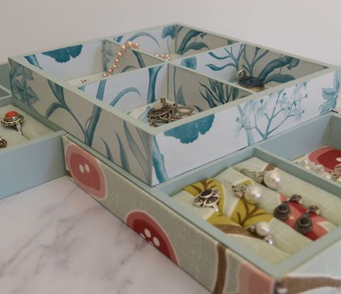 DIY Jewellery Trays | www.windmillprotea.com