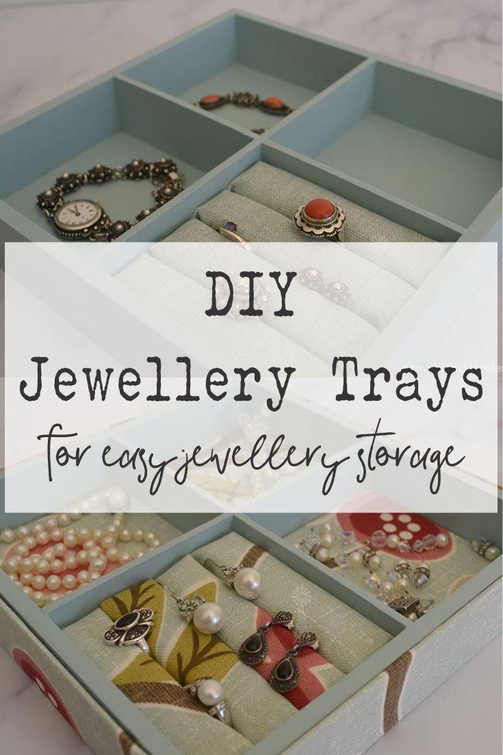 DIY Jewellery Trays | www.windmillprotea.com