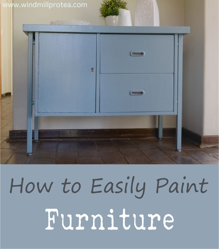 How to Easily Paint Furniture | www.windmillprotea.com