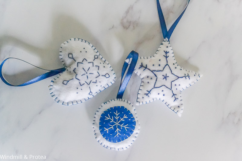 Completed ornaments | www.windmillprotea.com