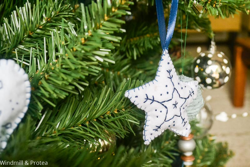Star Felt Ornament | www.windmillprotea.com