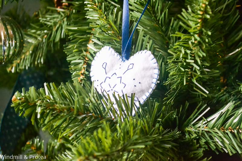Heart Felt Christmas Ornament | www.windmillprotea.com