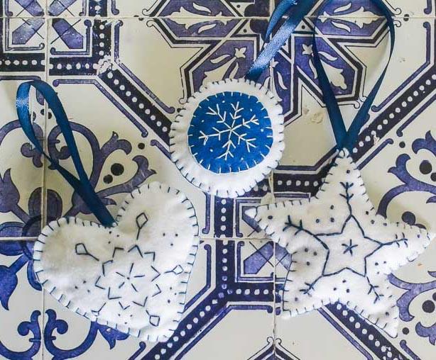 Felt Christmas Ornaments | www.windmillprotea.com