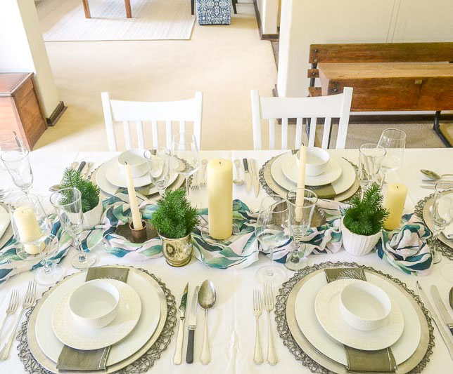 Formal Christmas Table | www.windmillprotea.com