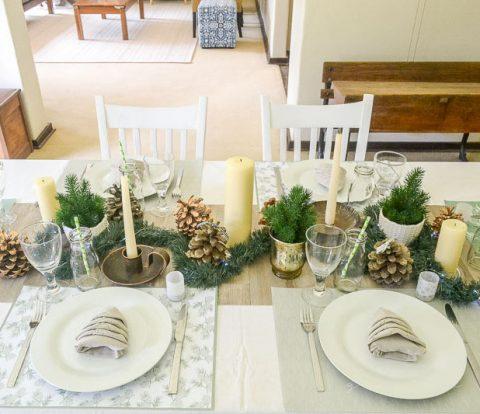 Informal Christmas Table | www.windmillprotea.com