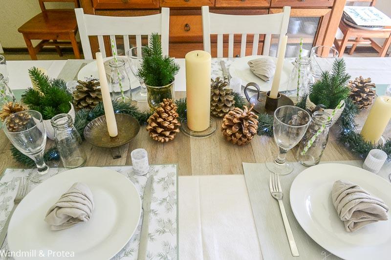 Stunning Christmas Table | www.windmillprotea.com