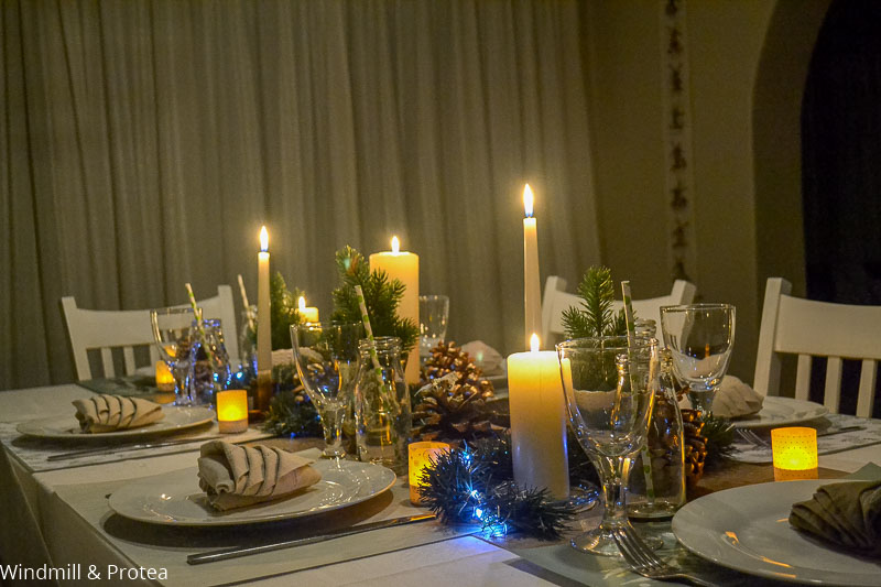 Candlelight Christmas Table | www.windmillprotea.com