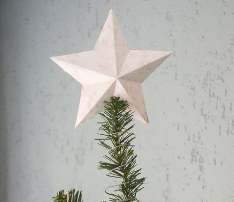 DIY Tree Topper | www.windmillprotea.com