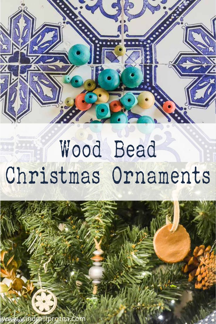 Wood Bead Christmas Ornaments | www.windmillprotea.com