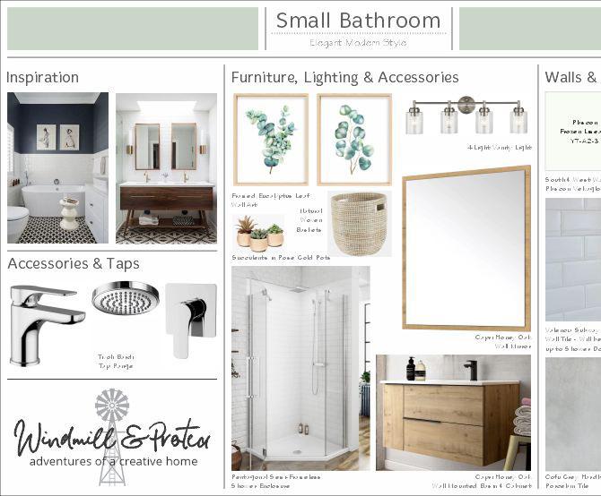 Elegant Modern Bathroom | www.windmillprotea.com