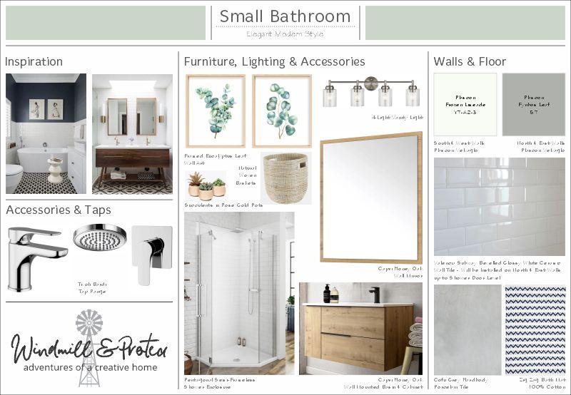 Elegant Modern Bathroom Design Plan | www.windmillprotea.com