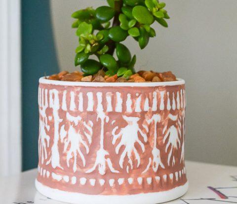 Mini Boho Terracotta Succulent Planter | www.windmillprotea.com