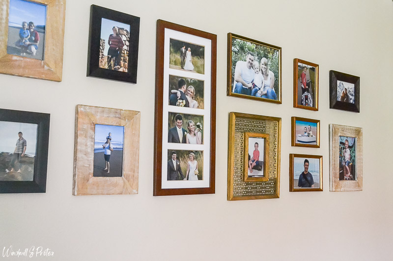 Family Photo Gallery Wall | www.windmillprotea.com