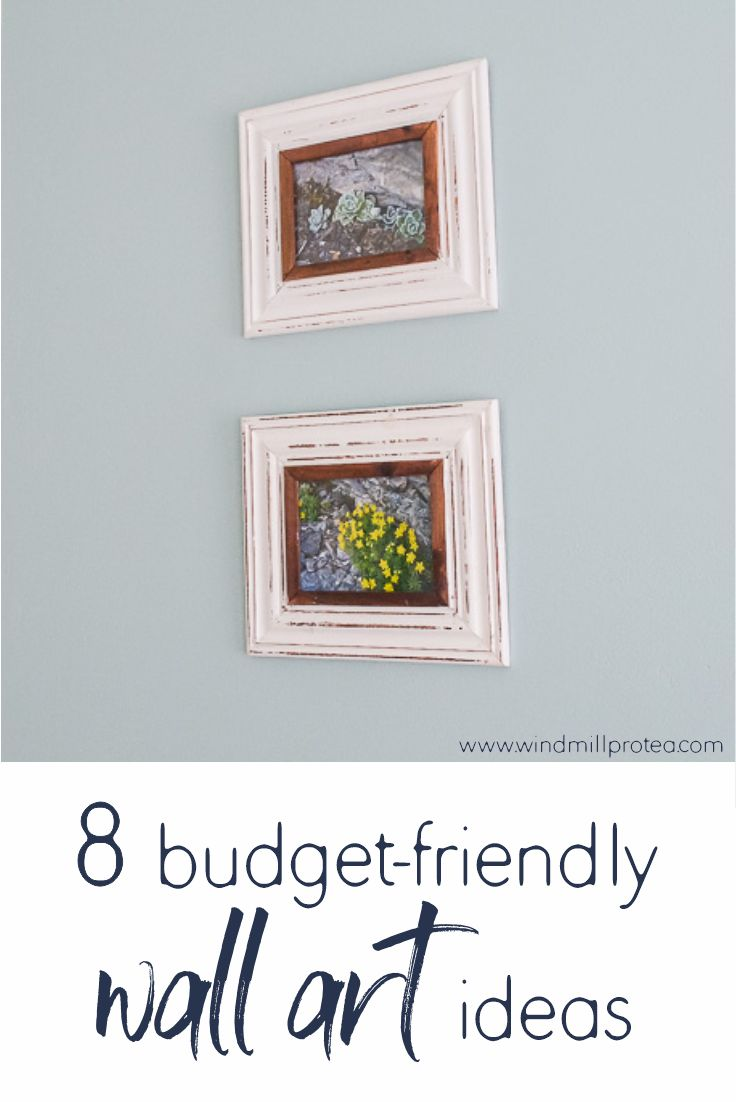 8 Budget-Friendly Wall Art Ideas