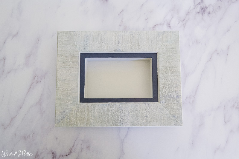 Repurposed Frame for butterfly Shadow Box | www.windmillprotea.com