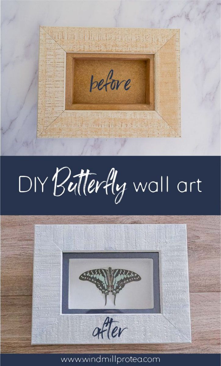 DIY Butterfly Wall Art | www.windmillprotea.com