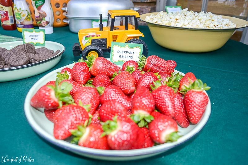 John Deere Food Table Strawberries | www.windmillprotea.com