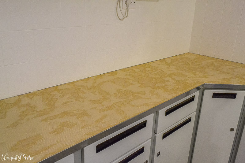 Adhesive applied to counter | www.windmillprotea.com