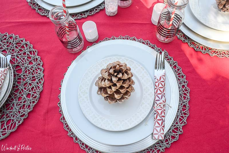 Informal Christmas Table Setting | www.windmillprotea.com