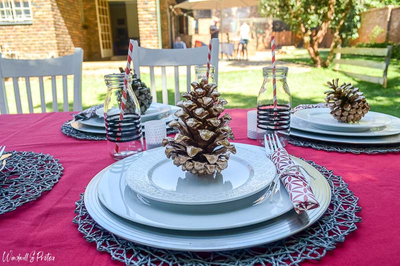 Outdoor Christmas Dining | www.windmillprotea.com
