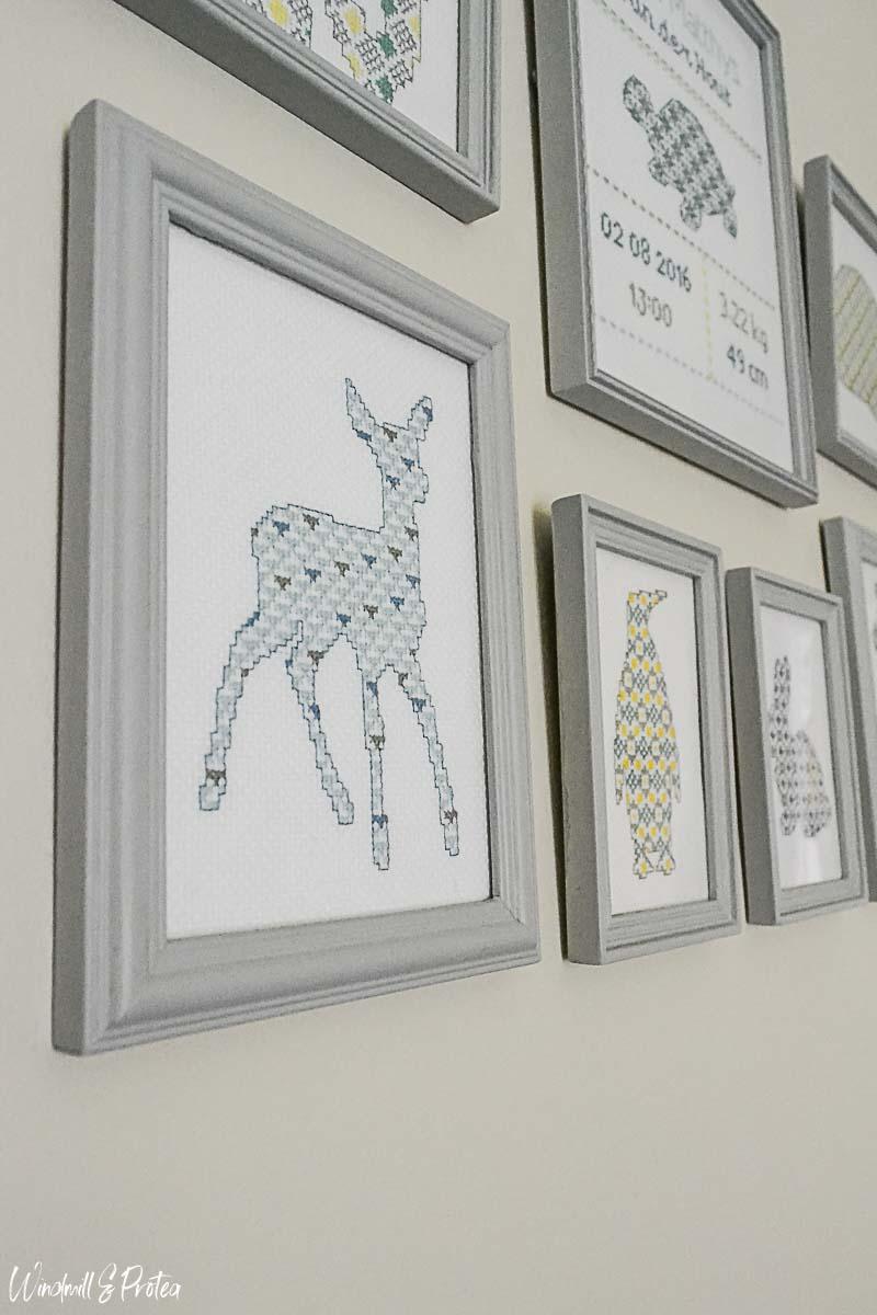 Deer Cross-stitch | www.windmillprotea.com