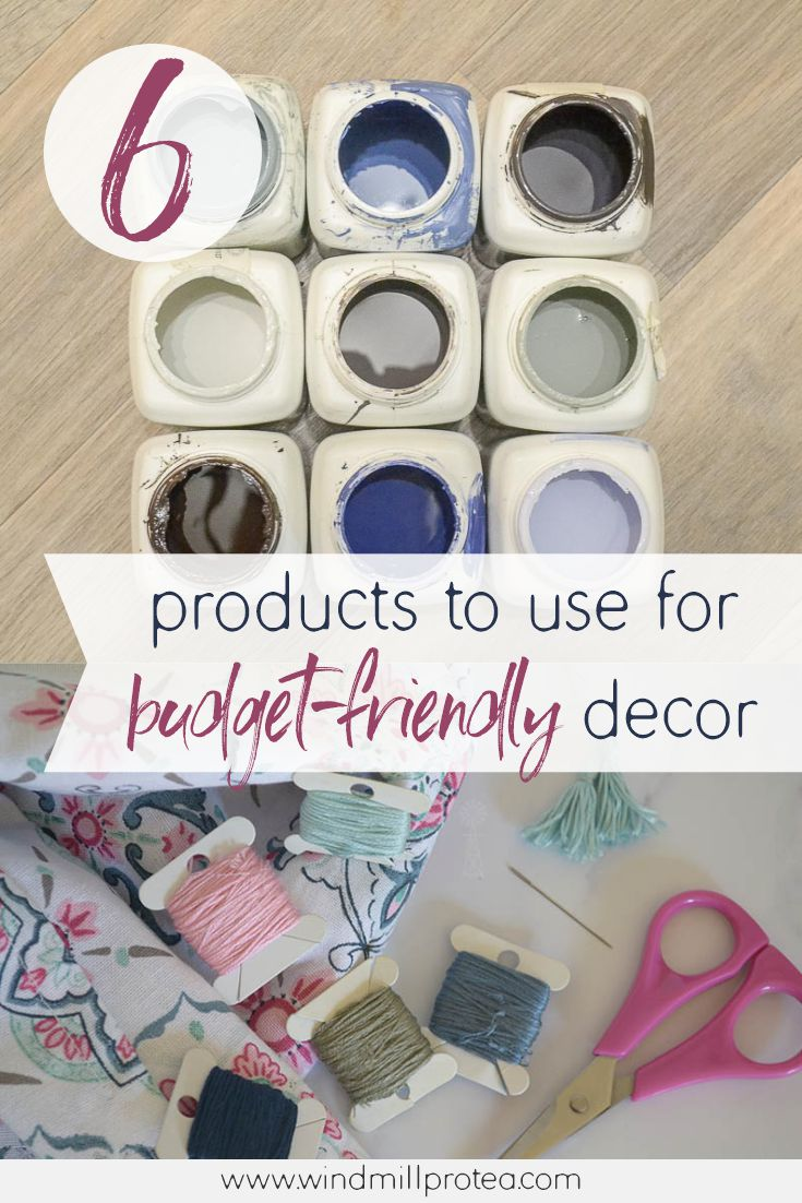 My 6 Favourite Products to Use for Budget-Friendly Home Décor | www.windmillprotea.com