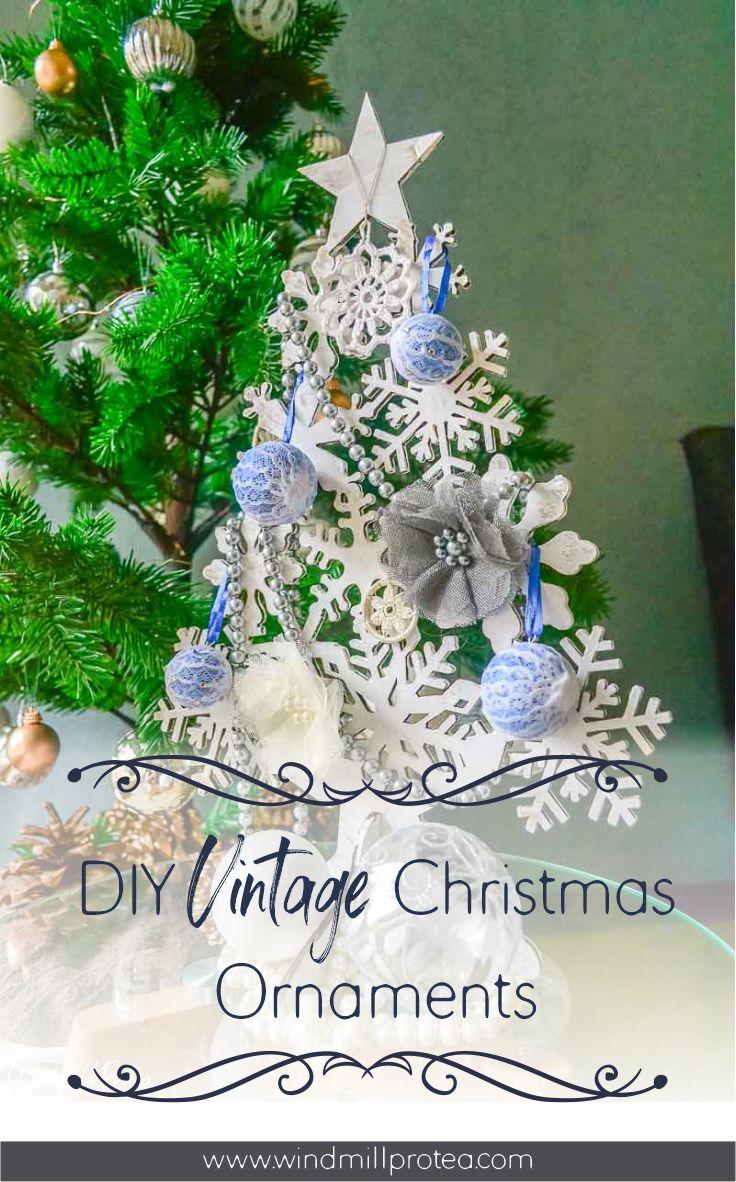 DIY Vintage Christmas Ornaments | www.windmillprotea.com