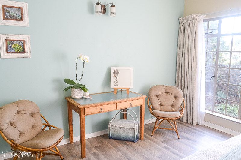 DIY Ombre Painted Basket | www.windmillprotea.com