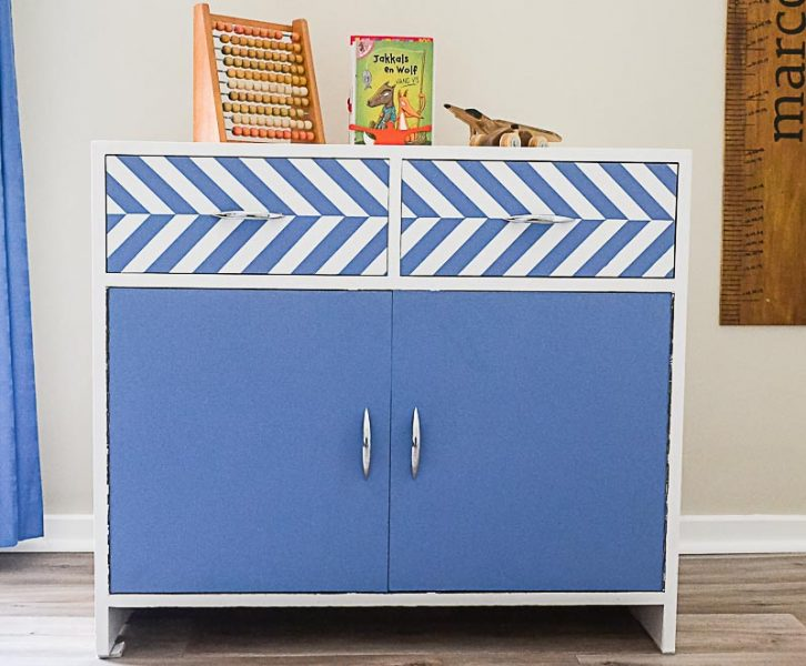 DIY Painted Toy Cupboard | www.windmillprotea.com