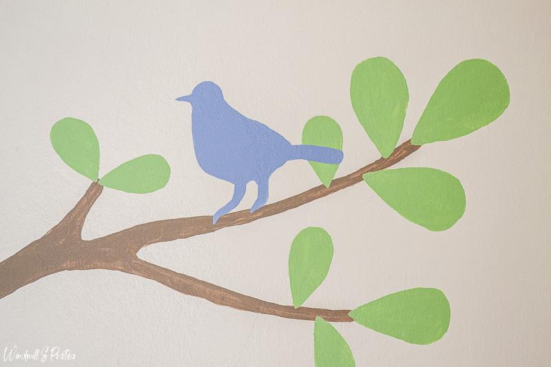 Birds in tree mural | www.windmillprotea.com