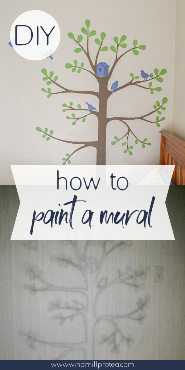How to Paint a Mural | www.windmillprotea.com