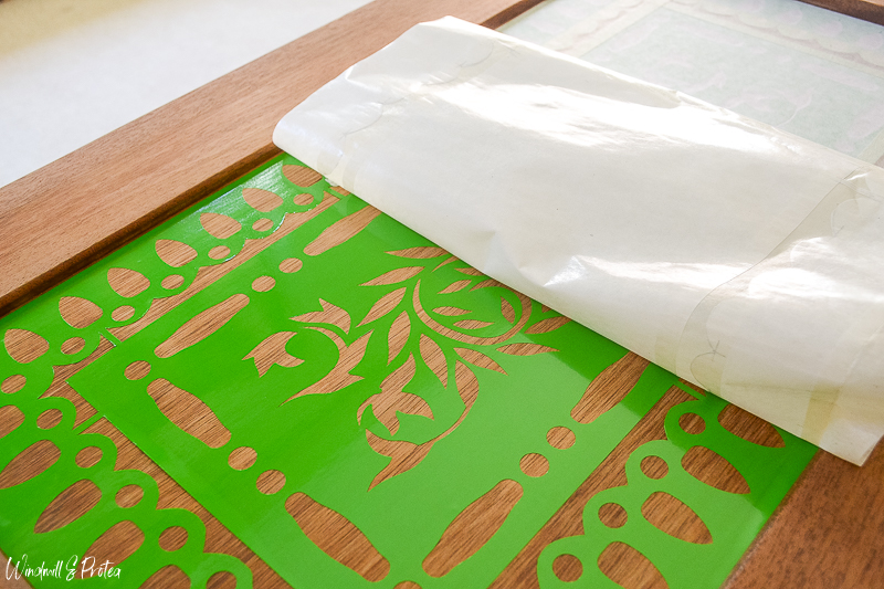 Removing Transfer Paper | www.windmillprotea.com