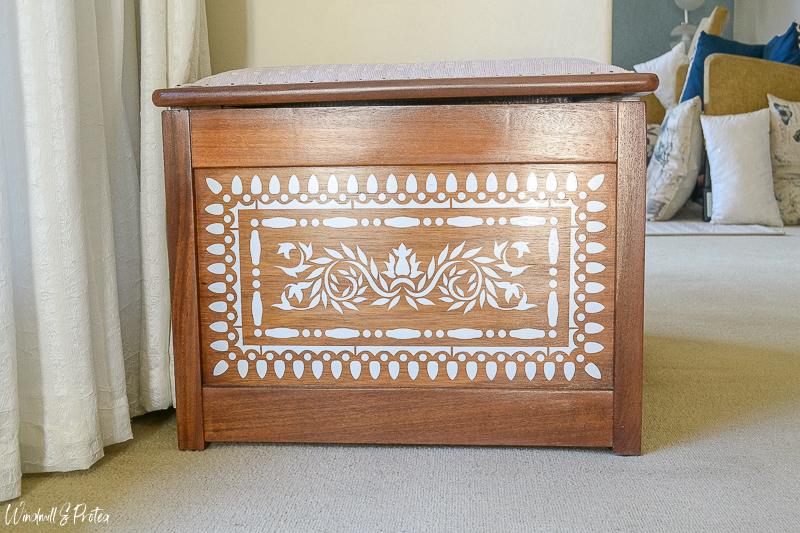 Faux Bone Inlay Chest - After | www.windmillprotea.com