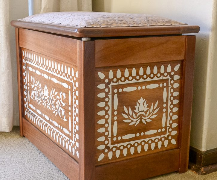Faux Bone Inlay Chest | www.windmillprotea.com