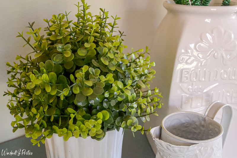 Plants in Home Decor - Use Faux greenery in low light areas | www.windmillprotea.com