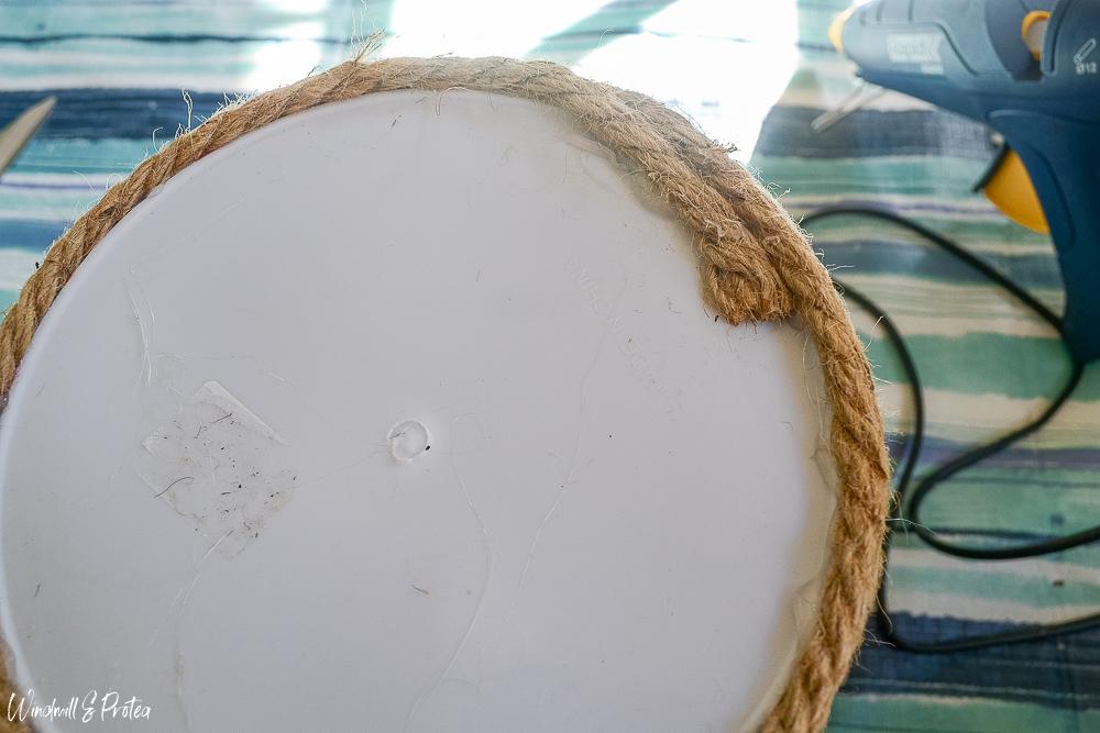 DIY Rope Basket - Bottom | www.windmillprotea.com
