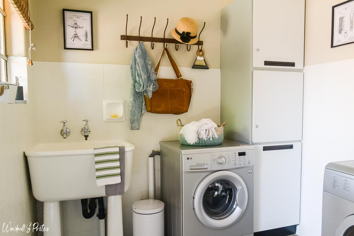 Kitchen Reveal - Laundry | www.windmillprotea.com